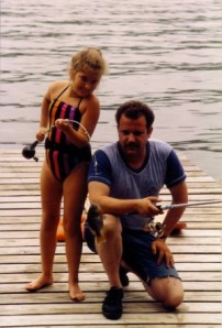 Me & My Dad fishing