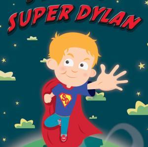 SuperDylan - illustration by Chris Jevons of Yorkshre UK