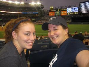 Ka-Ka and I at the Yankee Game