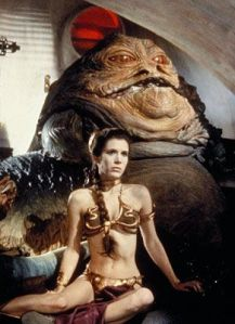 I want to look like Leia, Not Jabba!