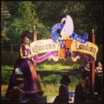 HRM Queen Elizabeth addressing the royal subjects of Sterling Village