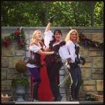 Vixens En Guard - Athena, Calypso, and Atalanta