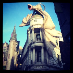 The Dragon at Gringotts