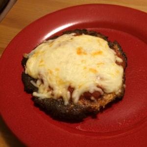 My Cauliflower Pizza... Yum!