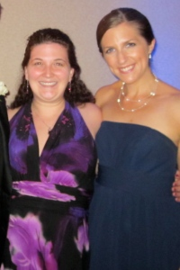 Doc and I at Team G's Wedding - Sept '12