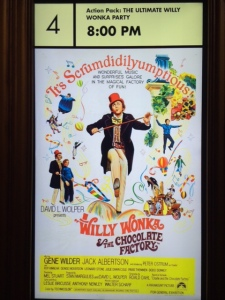 Original Willy Wonka Theatrical Poster