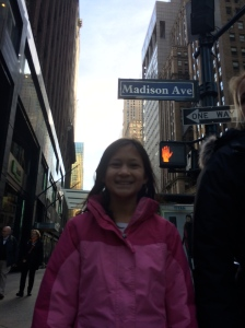 Boo Bear on Madison Ave