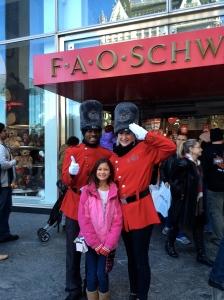 Outside FAO Schwartz