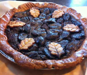 Organic Chocolate Pecan Pie