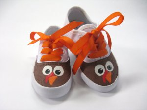 Perfect Kicks for Running a Turkey Trot - Click on the photo to order on Etsy (That's where I found this picture)