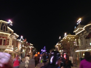 SK2's Photo as we ran up Main Street