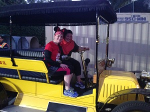The Main Street Staff let us Jump on the Electric Car!