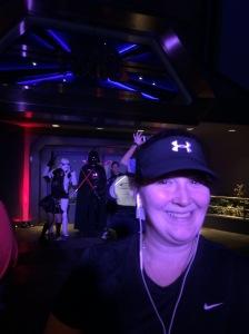 Vader photo bomb!