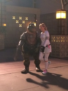 The Gamorrean Guard looking for another prisoner!