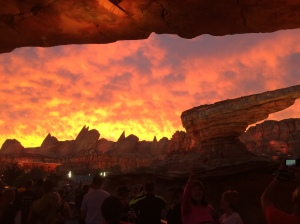Not sure it this was Disney or God's doing, either way it was magical and I was so glad I got to witness it!