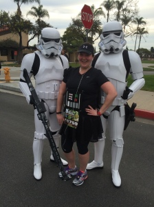 I'm not the runner you're looking for!