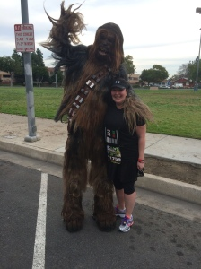 Chewbacca! What a Wookie!