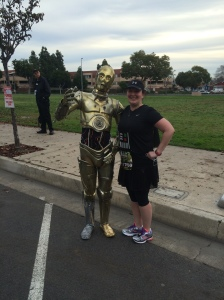 C3P0 out managing Human Cyborg Relations