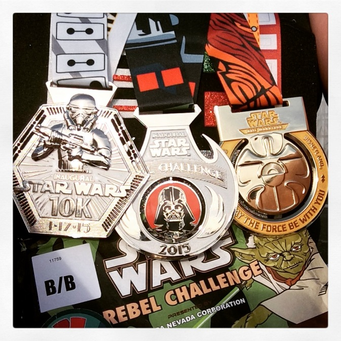 Jawas, and Wookies, and Jedis, Oh My! – Part 3 of My Star Wars Half Marathon Weekend (The Half)