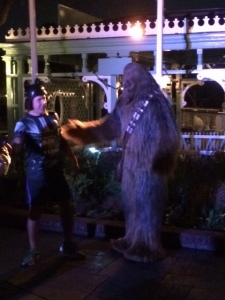 Chewie Meet and Greet at Mile 2.25