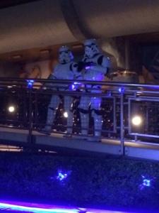 Stormtroopers standing watch