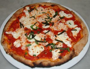 Margherita Pizza (photo from the Frankie & Fanucci's  - I forgot to take pictures!)