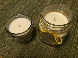 4 oz and 8 oz candles