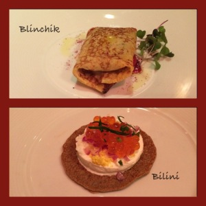 Russian Tea Room  - First Course Selections