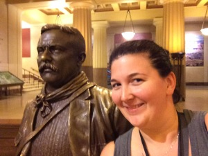 Just Hangin' with Teddy Roosevelt